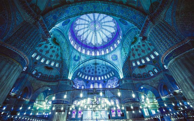 مسجد سلطان احمد یا مسجد آبی